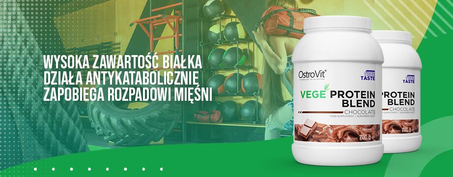 Działanie anaboliczne i antykataboliczne, przyśpieszona regeneracja organizmu. Zbuduj wymarzoną masę mięśniową dzięki właściwościom wegańskiej odżywki białkowej.