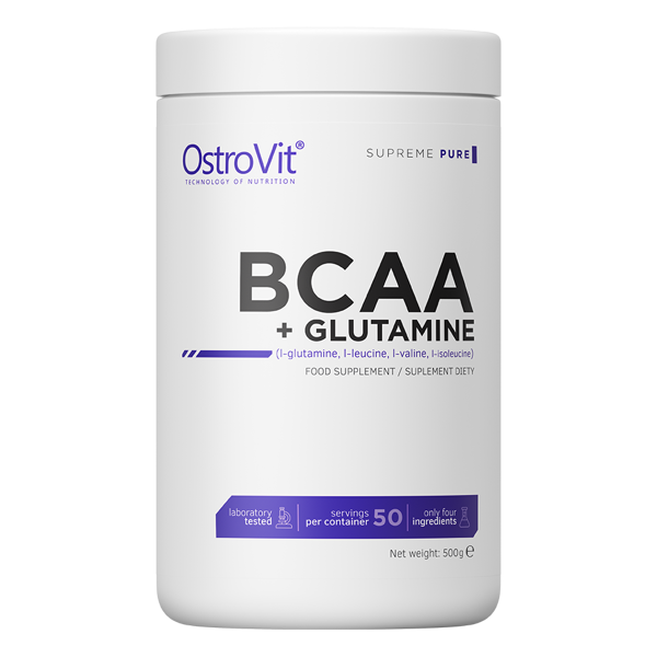 When to take bcaa and l glutamine