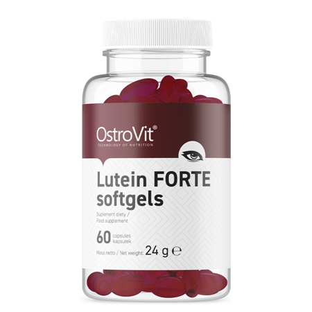 OstroVit Lutein FORTE 60 softgels
