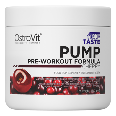 OstroVit PUMP Pre-Workout Formula 300 g NEW FORMULA