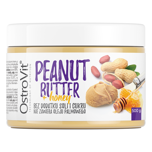 38fc6a768e56 OstroVit Peanut Butter + Honey 500 g - 14