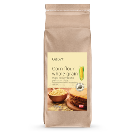 OstroVit Corn Flour Whole Grain 1000 g