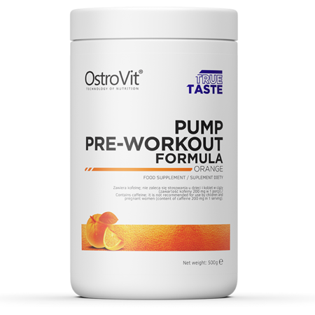 OstroVit PUMP Pre-Workout Formula 500 g NEW FORMULA